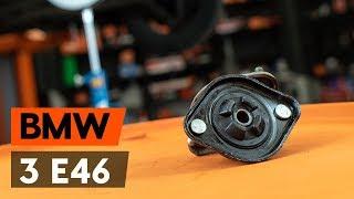 Kako zamenjati ležaj amortizerja / nosilec amortizerja na BMW 3 (E46) [VODIČ AUTODOC]