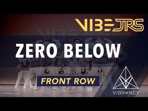 Zero Below   Vibe Jrs 2020 [@VIBRVNCY Front Row 4K]