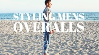 Styling mens overalls︱TRITYREH