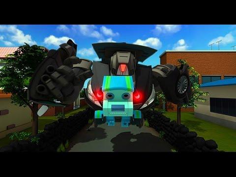 극장판 또봇: 로봇군단의 습격] 지하철 충돌을 맞고 시민들을 구해야한다! (2017.04.27) - YouTube