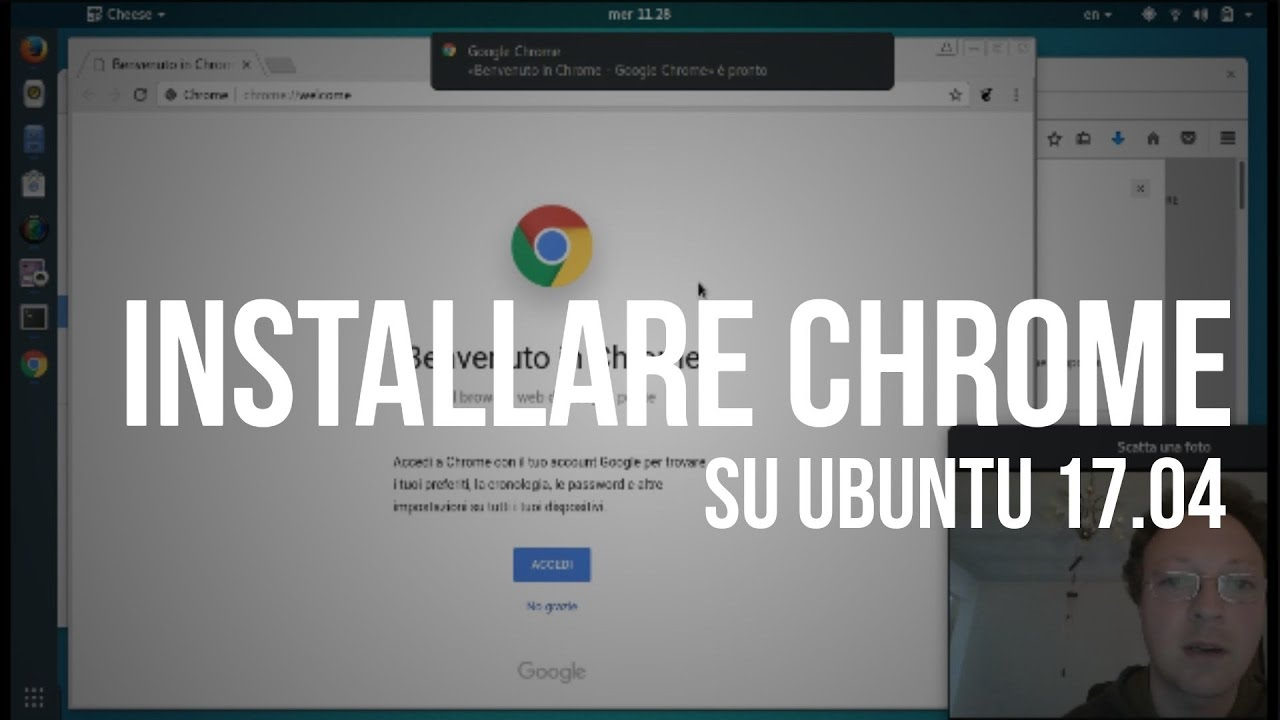 chrome da terminale ubuntu