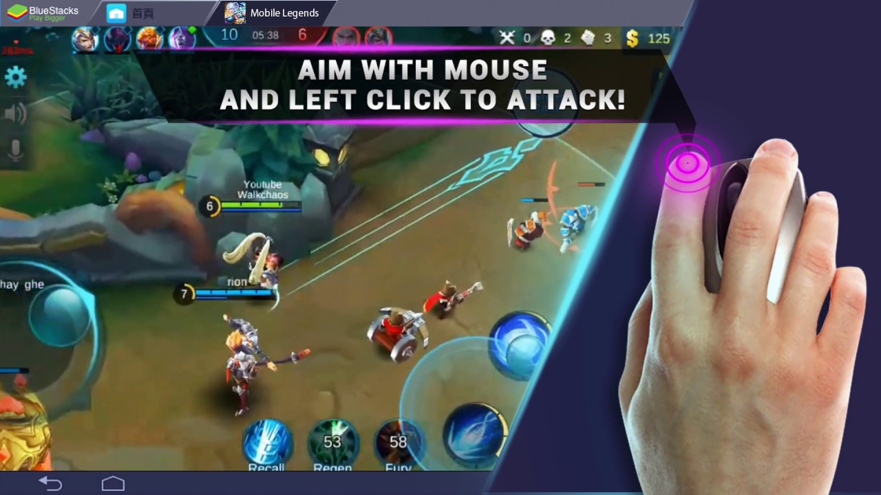 how to play android games with keyboard support on bluestacks