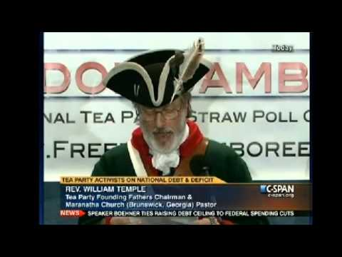TEA Party Protesting Federal Debt Ceiling Hike 1/1