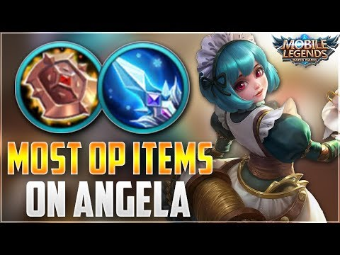 MUST HAVE ITEMS ON ANGELA! Mobile Legends Angela Ranked Gameplay
