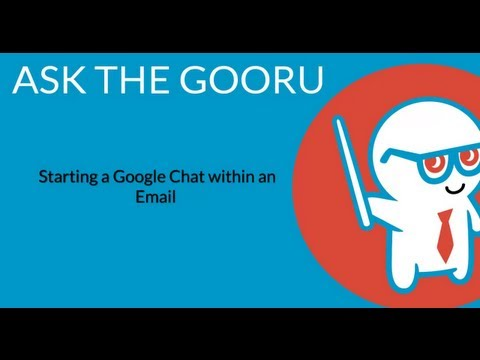 Start A Google Chat Within An Email