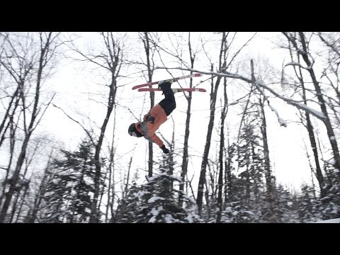 Mount Snow Academy Powder Skiing and Backcountry Jump!