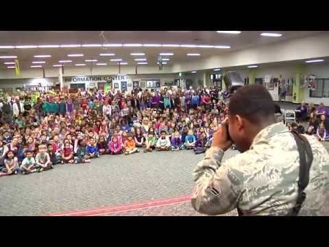 Mendel Elementary School: Month of the Military Child Opening Ceremony