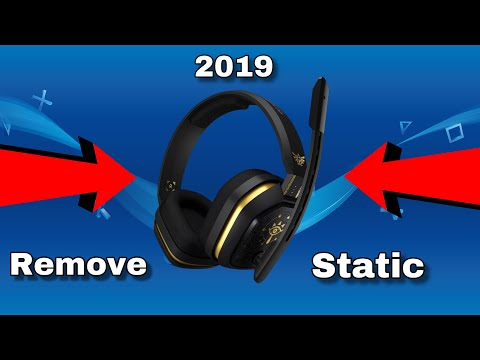 HOW TO FIX PS4 HEADSET LOUD MIC STATIC (2019)