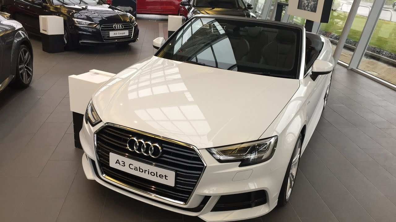 All New 2017 Audi A3 Cabriolet Convertible Exterior And Interior Review