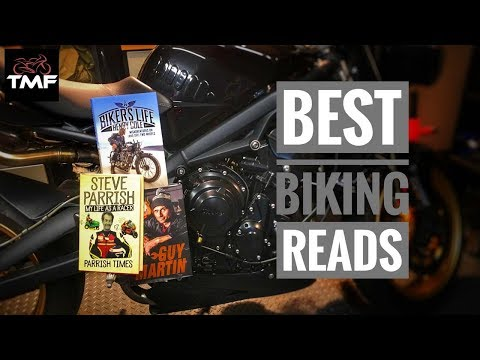 Top 3 motorcycling books - TMF's latest book reviews