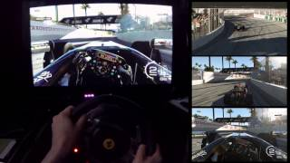 Forza 5 - F1 - Long Beach  Part 2 - Assists Off