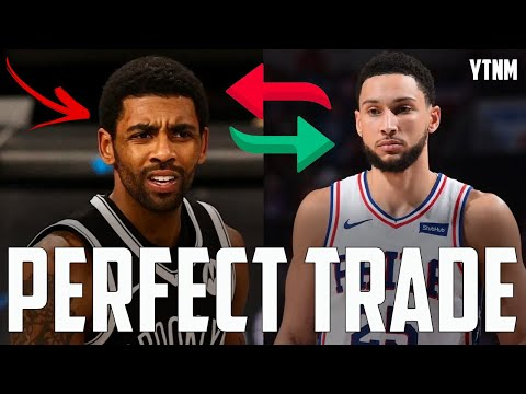Ben Simmons For Kyrie Irving Is The PERFECT Trade...   Your Take, Not Mine