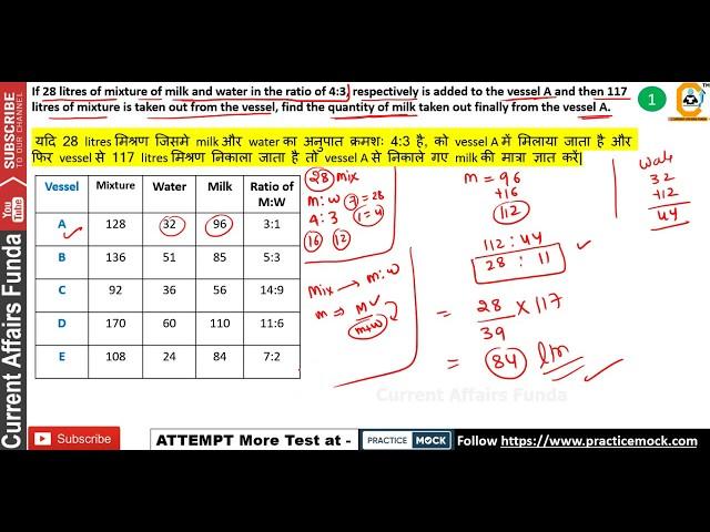 Mixture and Allegation Based Mains Level Data Interpretation (NEW SERIES) Part - 2