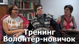 Тренинг-Вопросы волонтёров-новичков. Андрей Мещеринов, Лидия Алексеевская, Анастасия Коломина