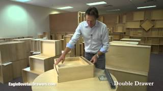 Double Drawer Inserts By Eagle Woodworking