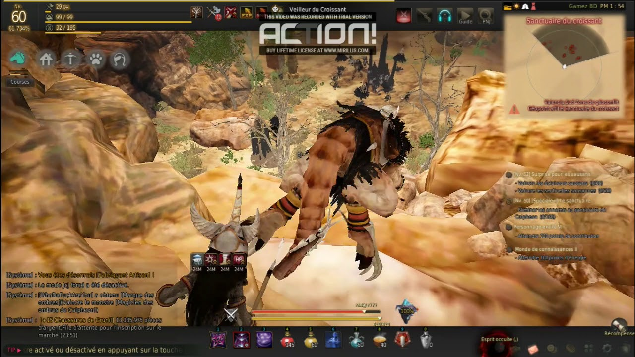 Moving bug in GameZBD (GameZ Black Desert Online)