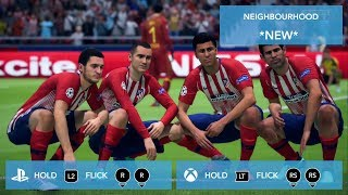 FIFA 19 ALL CELEBRATIONS TUTORIAL PS4 and XBOX