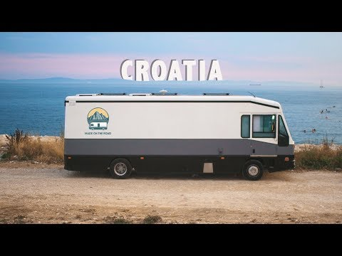 Vanlife   Our Roadtrip Vlog To CROATIA From The UK In A Bus Conversion