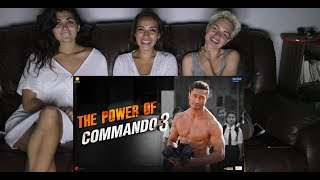 | The Power of Commando 3 | Vidyut Jamwal | Foreigners Mix Reaction ||