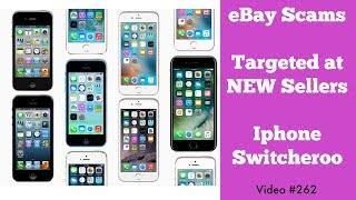 eBay Scam - Advice for New Sellers - Iphone Switcheroo