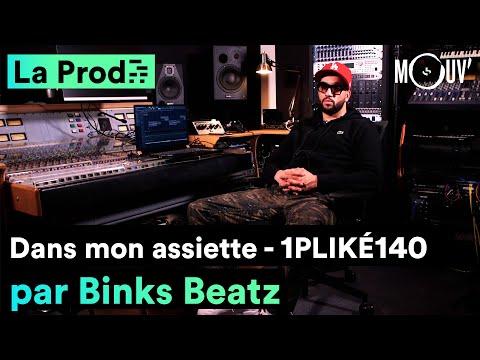 Youtube: 1PLIKÉ140 –«Dans mon assiette»: Comment Binks Beatz a composé le hit