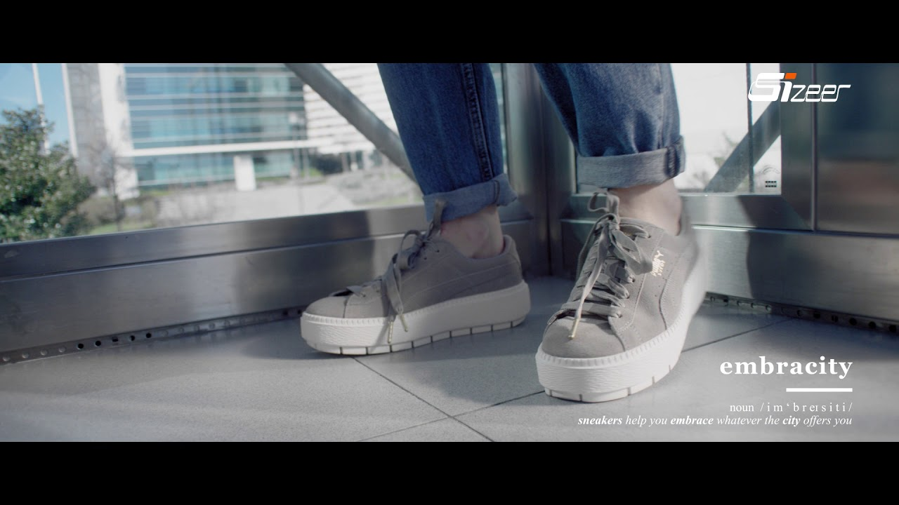 eee01d4bdfa62 Puma Suede Platform Rugged. EMBRACITY by Citymade sneakers. - YouTube
