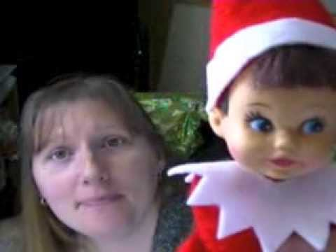 homemade elf on the shelf doll youtube