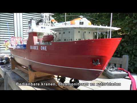 Seabex One Graupner RC Varend, Nu Kreuz Installer
