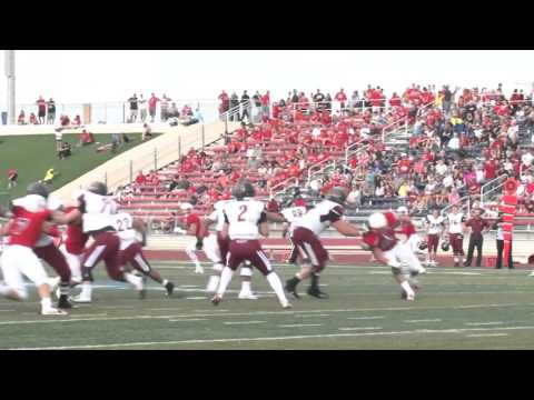 CSU-Pueblo Football: Gene Upshaw Finalist Morgan Fox Highlights (Nov. 24, 2015)