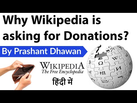 Why Wikipedia is asking for Donations? Current Affairs 2020 #UPSC #IAS