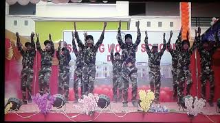 Must watch, most heart touching patriotic performance dedicated  to indian army