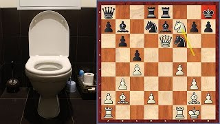 Winning In Chess With The Toilet Variation