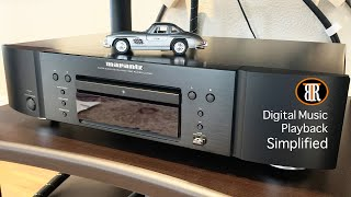 One Player For All Digital Music Needs, Marantz UD7007