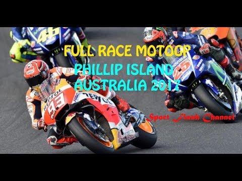 FULL RACE MOTOGP PHILLIP ISLAND AUSTRALIA | 22 OCTOBER 2017 | HD
