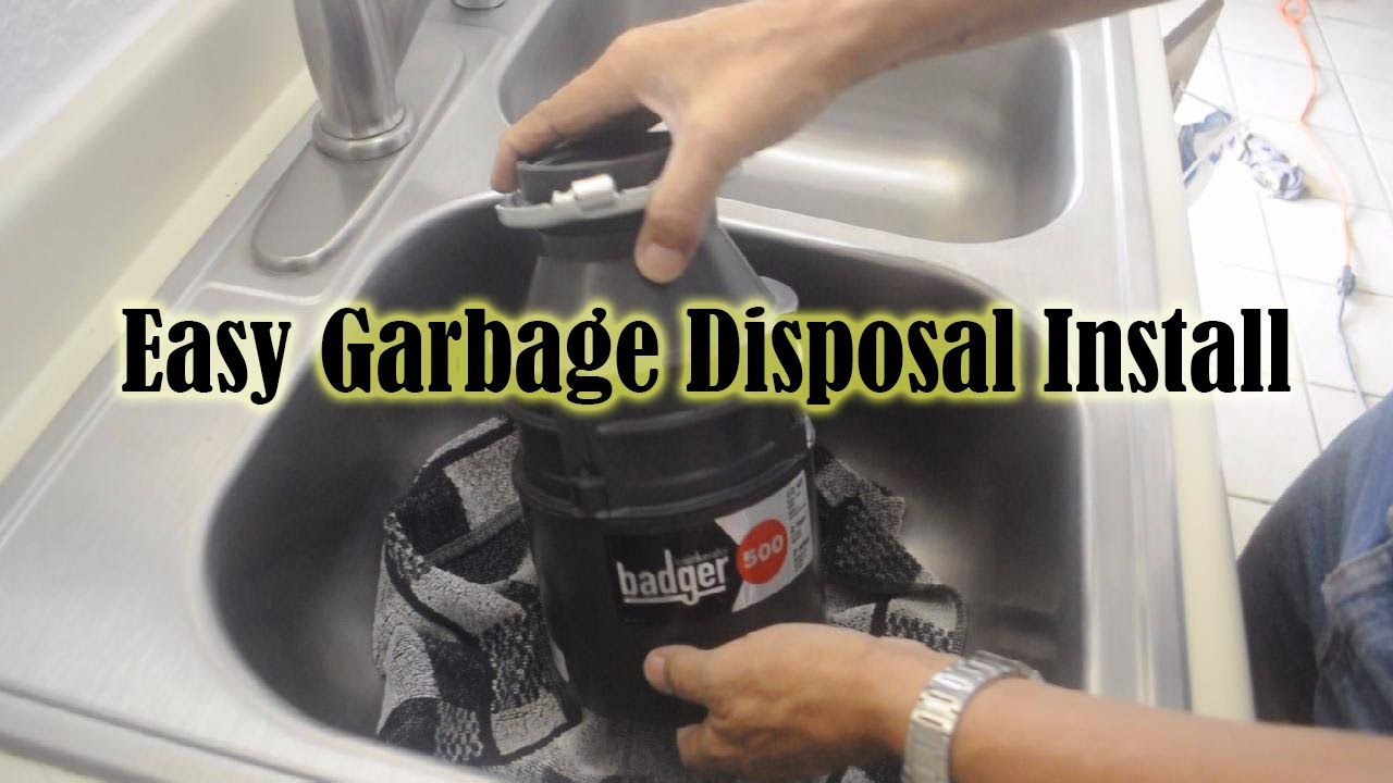 How To Replace A Garbage Disposal Instructions How To