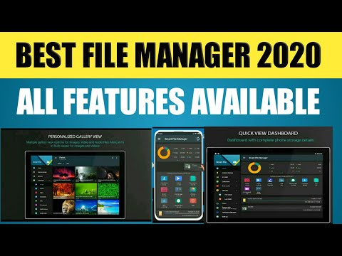 BEST FILE_MANAGER APP KONSA HAI ? | BEST File Manager For Android Phone 2020 |All Features File 2020