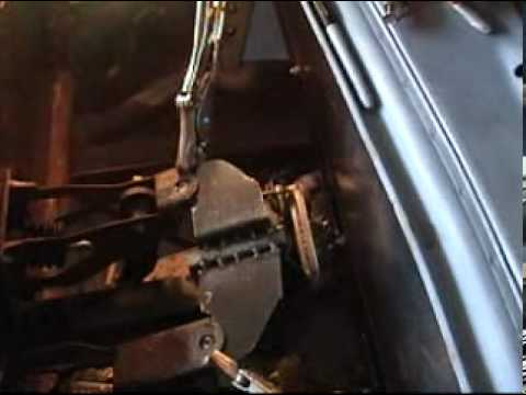 Create VW bug upper pedal mounts from steel #300.mpg