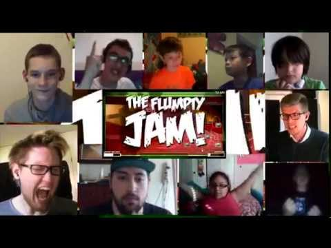"""Flumpty's Jam"" Song By DAGames Reaction Mashup"