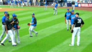 k rod mets and bruney yankees fight pre subway series game 6 14 09