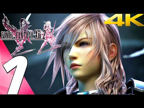 Final Fantasy XIII-2 - Gameplay Walkthrough Part 1 - Prologue [4K 60FPS]