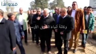 بالفيديو:عبد الباسط وسعيد يتفقدان الطريق الدائرى الإقليمى