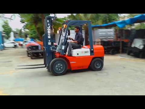Jost's Plus Series Diesel Forklift
