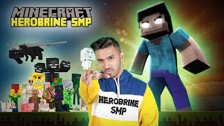 WELCOME TO HEROBRINE SMP | MINECRAFT