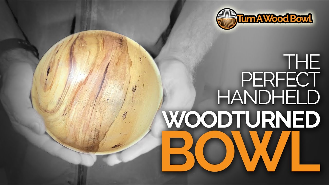 Wood Turned Bowl Green Wood – Pecan Handheld Video
