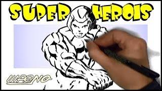 Curso de Desenho: Como Desenhar Super Herois (How to Draw Superheroes)