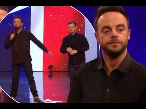 Grinning Ant McPartlin looks drastically different as he returns to TV screens for first time since