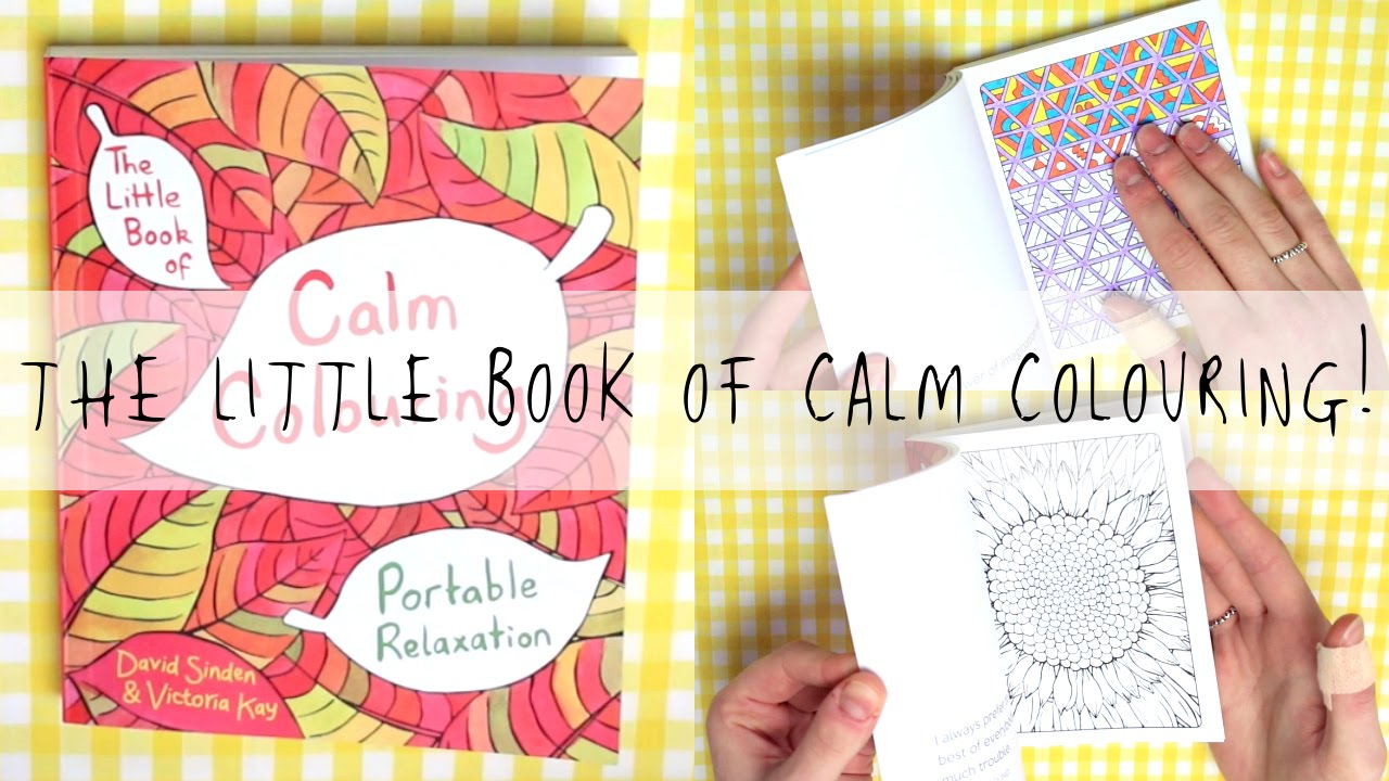 Little book of coloring for mindfulness - The Little Book Of Calm Colouring Mygreencow