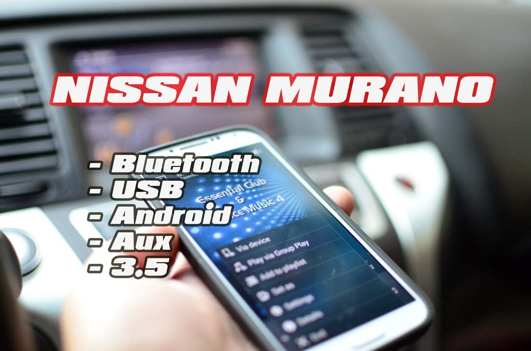 Nissan Murano Android Bluetooth Usb Aux Samsung S4 S5 Mp3