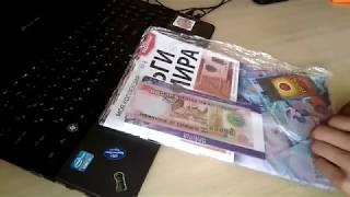 огляд і розпакування 8 випуску колекції гроші світу від компанії Modimio