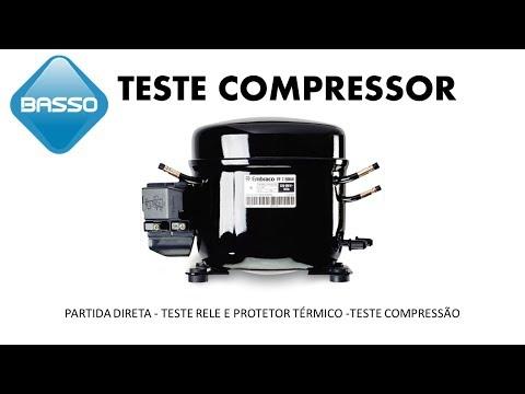 Teste de compressor